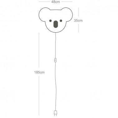 Lampara de pared Softlight Koala