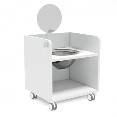 mueble de higiene para niños arco iris