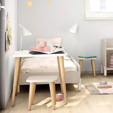 Mesa infantil cuadrada Arco Iris
