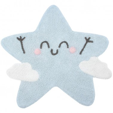 alfombra lavable happy star de lorena canals by mr wonderful
