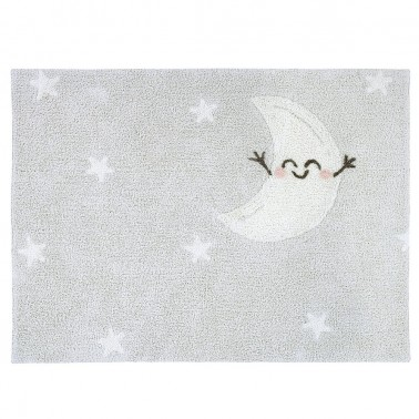 alfombra lavable happy moon rectangular lorena canals