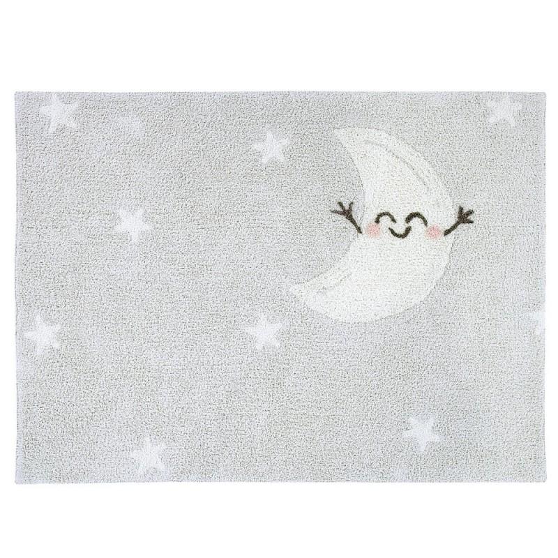 alfombra lavable happy moon rectangular lorena canals