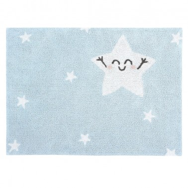 alfombra lavable happy star rectangular lorena canals