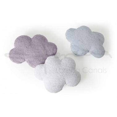 Cojin Lavable Nube Azul Lorena Canals