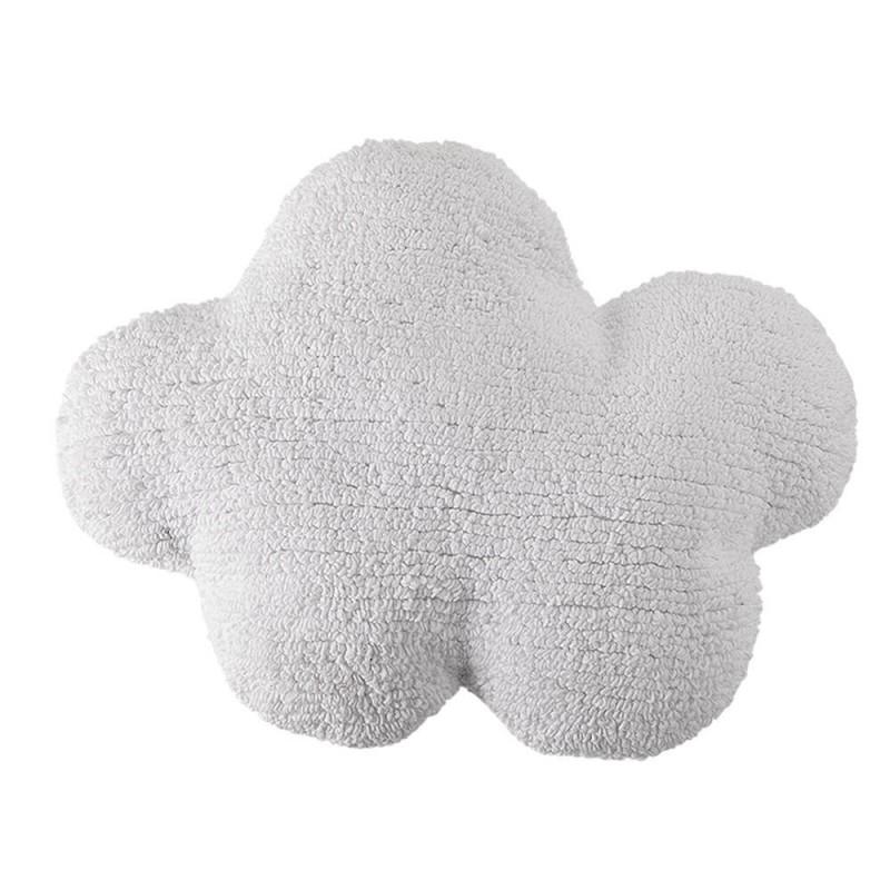 cojin lavable nube blanca de lorena canals
