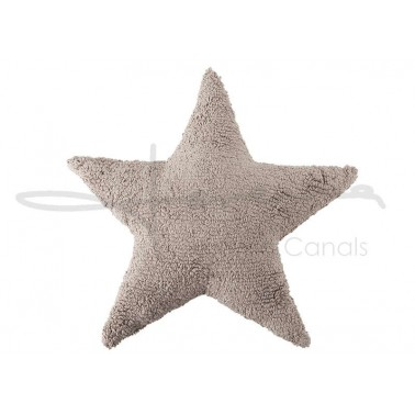 cojin lavable estrella lino de lorena canals