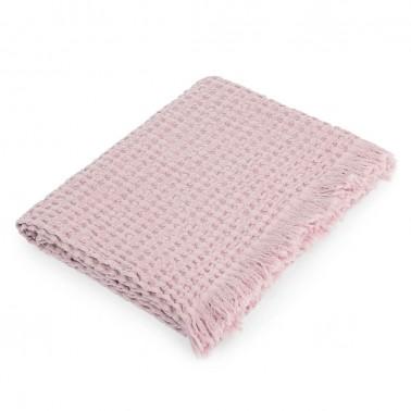 manta bee para bebí© color rosa de petit praia
