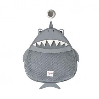 colgador para baño tiburon 3 sprouts