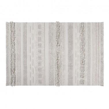 alfombra lavable air natural lorena canals