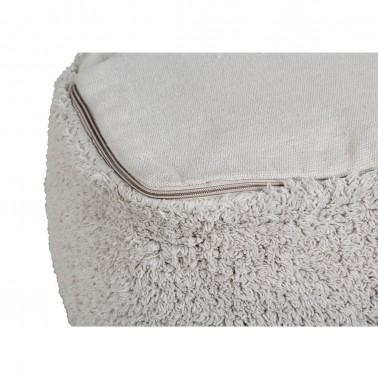 Puff Marshmallow Square Pearl Grey