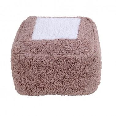 Puff Marshmallow Square Vintage Nude