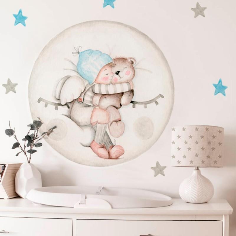 vinilo infantil dreams luna azul imda