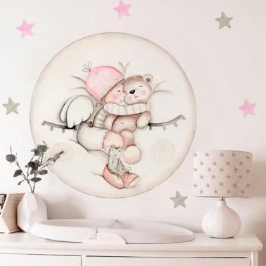 vinilo infantil dreams luna rosa imda