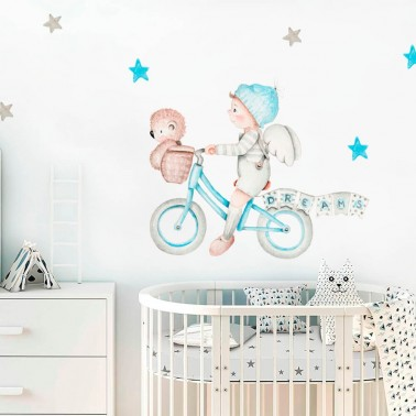 vinilo infantil dreams ii azul imda
