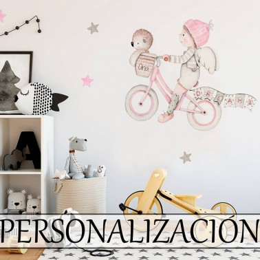 Vinilo Infantil Dreams II rosa IMDA