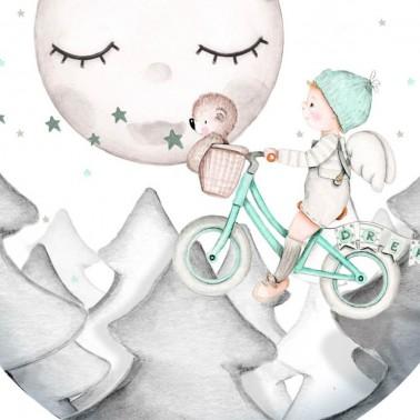 Vinilo Infantil Ventana Dreams II Mint IMDA