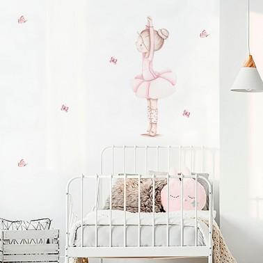 vinilos imda | modelo bailarina - bebeydecoracion