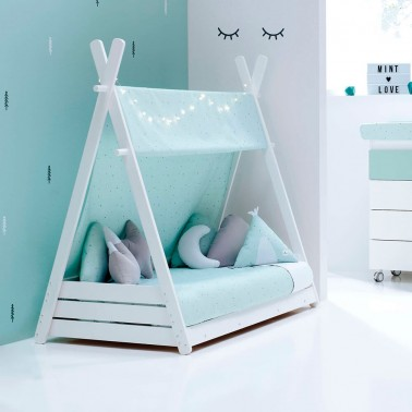 pack camita montessori homy xl mint