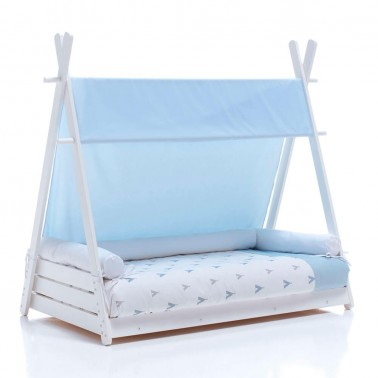 Pack camita Montessori Homy XL INDIANA BLUE Alondra