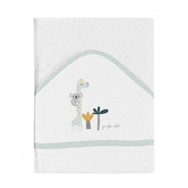 maxicapa de baño bebí© blanca koala