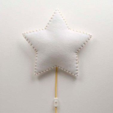 Lampara De Pared Estrella