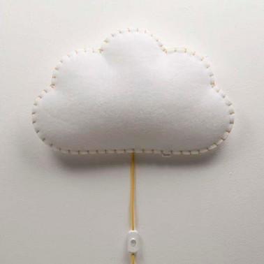 Lampara De Pared Nube