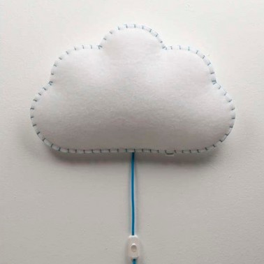 Lampara De Pared Nube