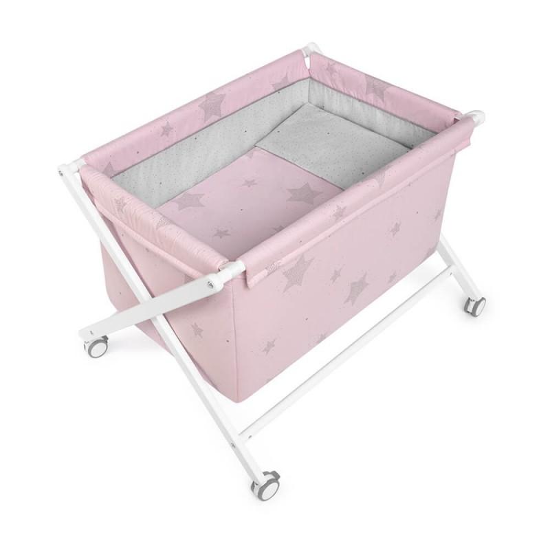 minicuna tijera etoile rosa petit praia