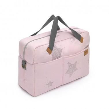 bolso etoile rosa petit praia