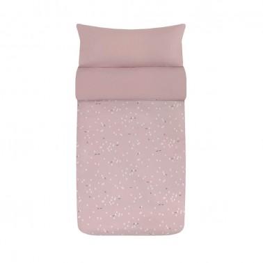saco nordico cuna moss rosa babyclic