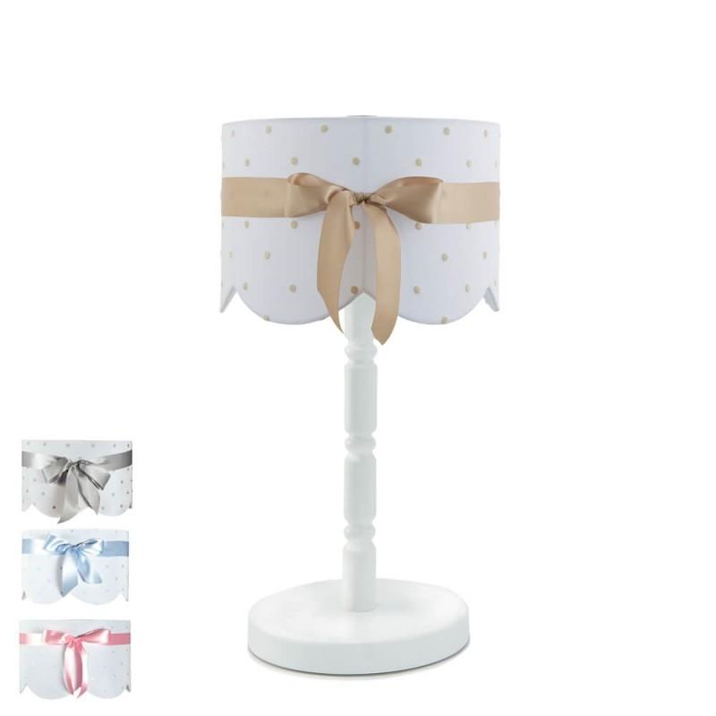 lámpara infantil de sobremesa lazo- pie 6039