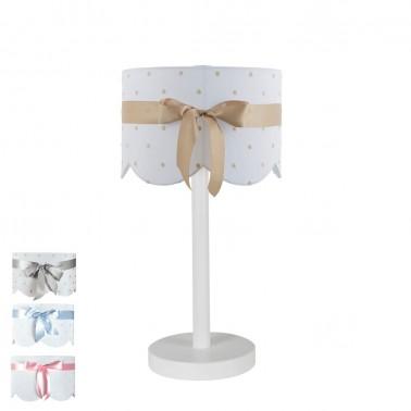 lámpara infantil de sobremesa lazo- pie 5181