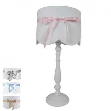 lámpara infantil de sobremesa lazo- pie 6337