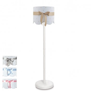 lámpara de pie infantil lazo - pie 6339