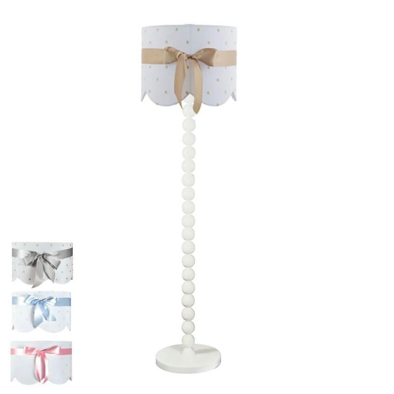 lámpara de pie infantil lazo - pie 7542