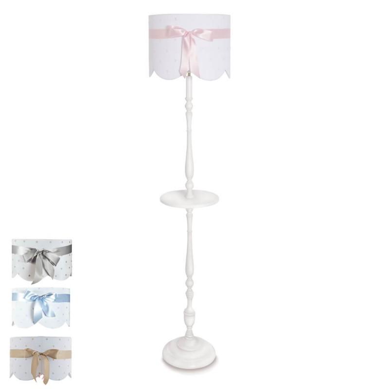 lámpara de pie infantil lazo - pie 6344