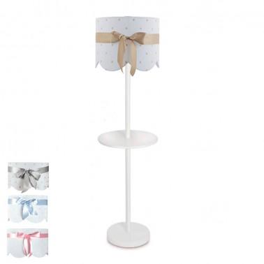 lámpara de pie infantil lazo - pie 5554