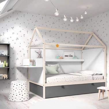 cama casa nido - bebeydecoracion