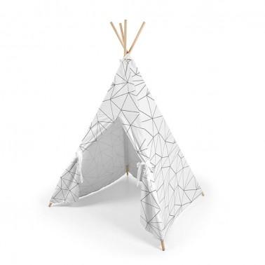 tipi de niños origami de ros