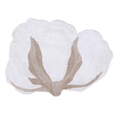 Alfombra Lavable Cotton Flower Lorena Canals