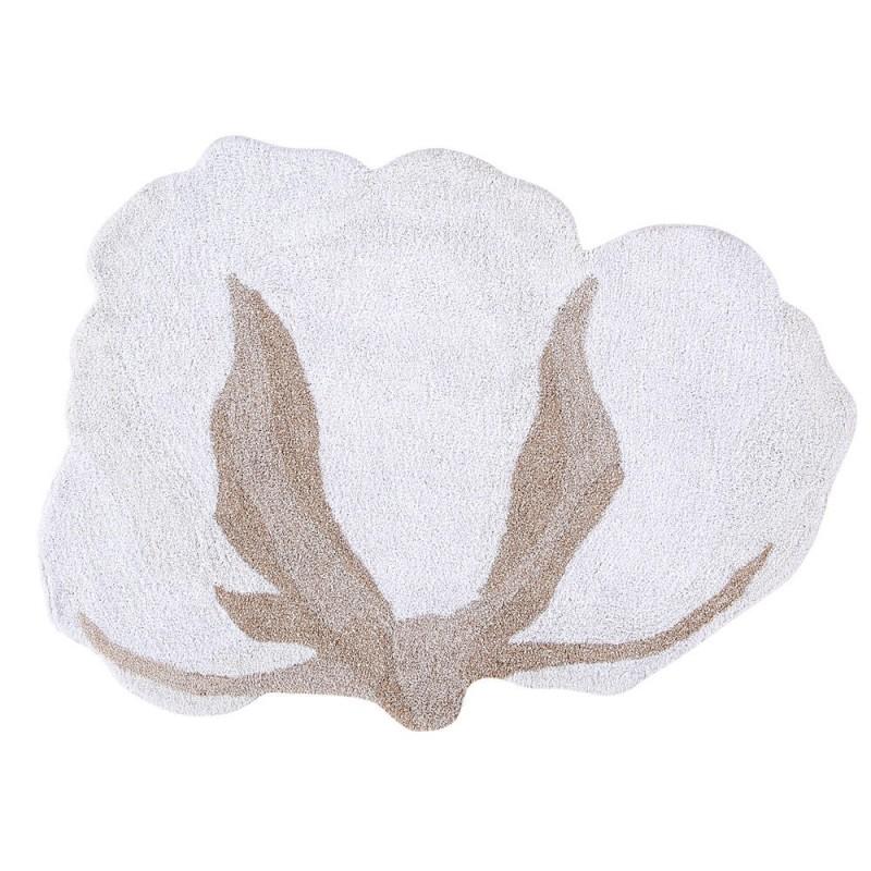 Alfombra Lavable Cotton Flower Lorena Canals