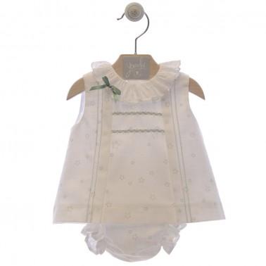 cojunto niña jesusin bebe narcisos 0057