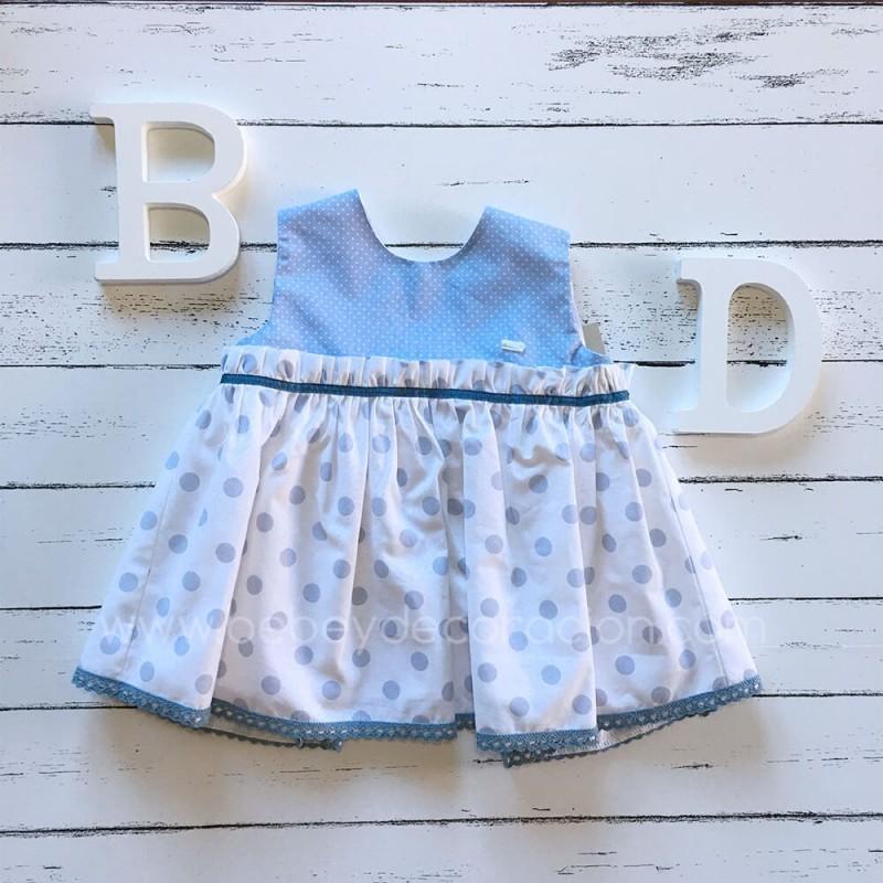 vestido bebé lavanda 0341