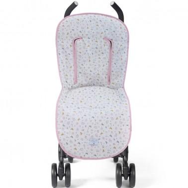 comprar funda de silla universal corta ritta rosa