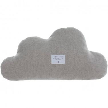 Cojin decorativo Nube Lino gris