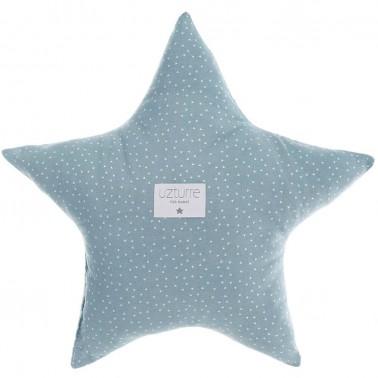 Cojin decorativo Estrella Tippy azul