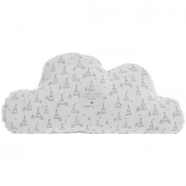 Cojin decorativo Nube Tippy gris