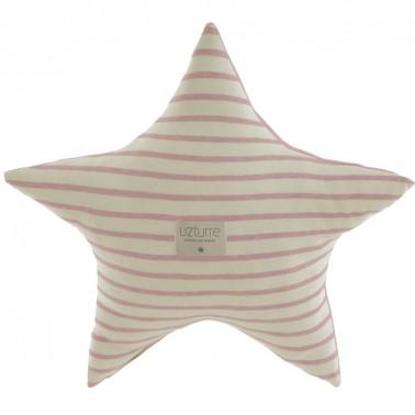 Cojin decorativo Estrella Tirso rosa