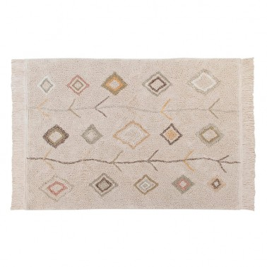 alfombra lavable kaarol earth lorena canals