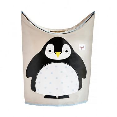 cesto ropa pinguino 3 sprouts